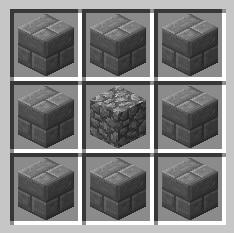 Minecraft как сделать резной каменный кирпич в minecraft